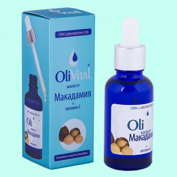 Масло от Макадамия с растителен витамин Е